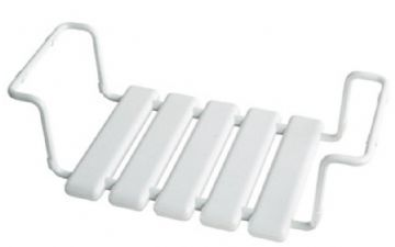 Gedy Extendable Bath Seat White 2284-02